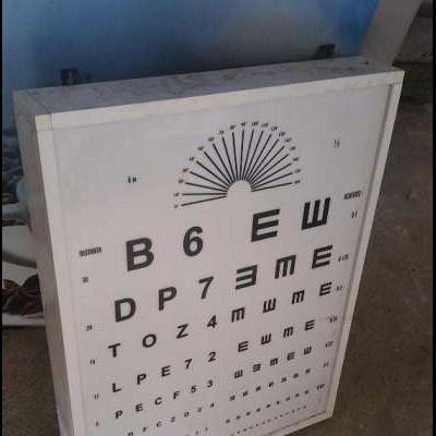 Panou litere oftalmologie
